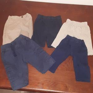 Bundle of Baby Boy Pants Clothes